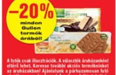 Gluténmentes termék akciók 2015. október