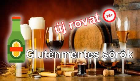 gluténmentes sör, gluténmentes sörök rovat