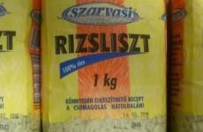 A NÉBIH rendelte el a Szarvasi rizsliszt kivonását a forgalomból