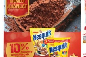 Nesquik gluténmentes kakaópor akció METRO