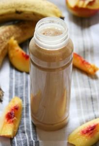 banános nektarinos turmix - gyors gluténmentes recept