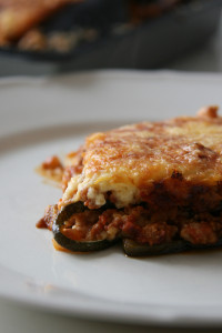 muszaka gluténmentes lasagne recept tészta nélkül