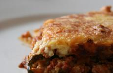Muszaka, avagy gluténmentes lasagne tészta nélkül