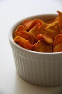 édesburgonyachips gluténmentes recept