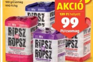 puffasztott rizs akció