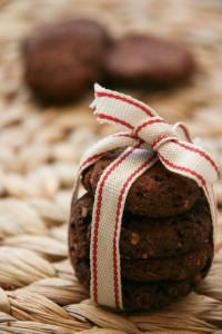 Kakaós cukormentes gluténmentes keksz
