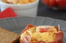 Prosciuttós minifrittata - avagy az olaszok kedvelt tojáslepénye, gluténmentesen!