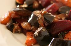 Szezámmagos grillezett zöldségek - 30 perc