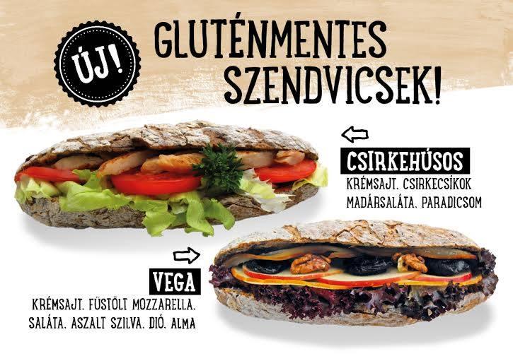 Prémium gluténmentes szendvicsek a Cserpes Tejivókban!
