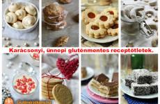 Ünnepi és karácsonyi gluténmentes receptek