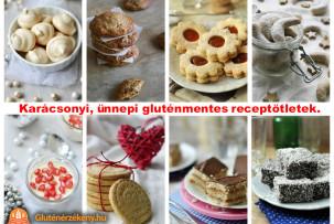 gluténmentes ünnepi receptek