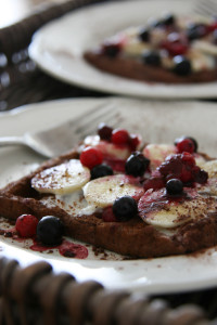 Gluténmentes gofri recept csökkentett szénhidrát tartalommal.