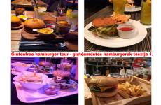 Glutenfree hamburger tour - gluténmentes hamburgerek tesztje 1.
