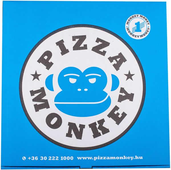 gluténmentes pizzás doboz pizza monkey