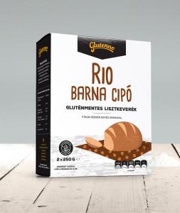 glutenno Rio barna cipó gluténmentes lisztkeverék