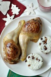 Almás-diós töltött csirkecomb - gluténmentes ünnepi főétel