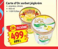 Carte-dOr gluténmentes jégkrém