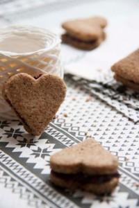gluténmentes mogyorós keksz recept, IR barát, cukormentes