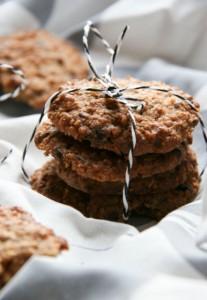 Diós gluténmentes zabkeksz - gluténmentes tízórai recept