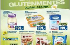 Gluténmentes termékek akciói 2016. január