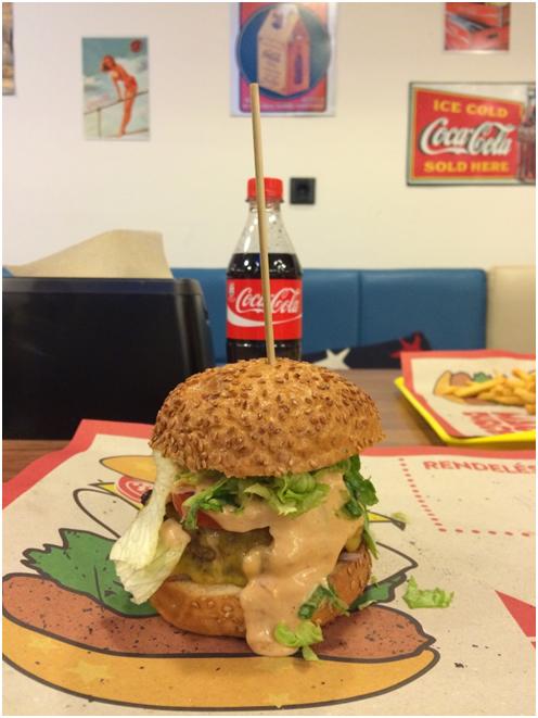 Magic Burger gluténmentes hamburger