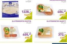 Akciós gluténmentes termékek 2016. március második fele