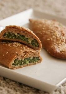 Spenótos táska gluténmentes péksütemény recept