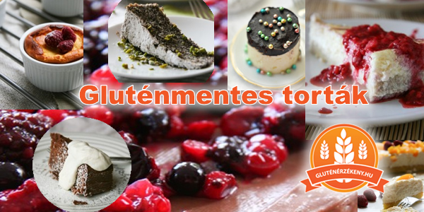 gluténmentes torta receptek - ünnepi torták gluténmentesen