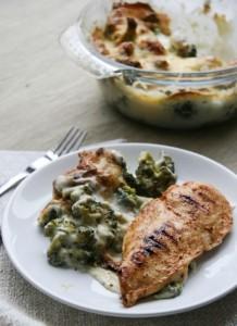 csőben sült brokkoli gluténmentes ebéd recept