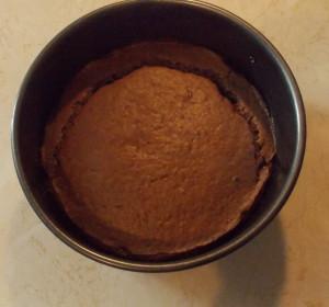 gluténmentes gesztenyés tortalap