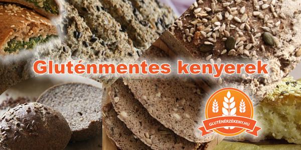 gluténmentes kenyérsütés
