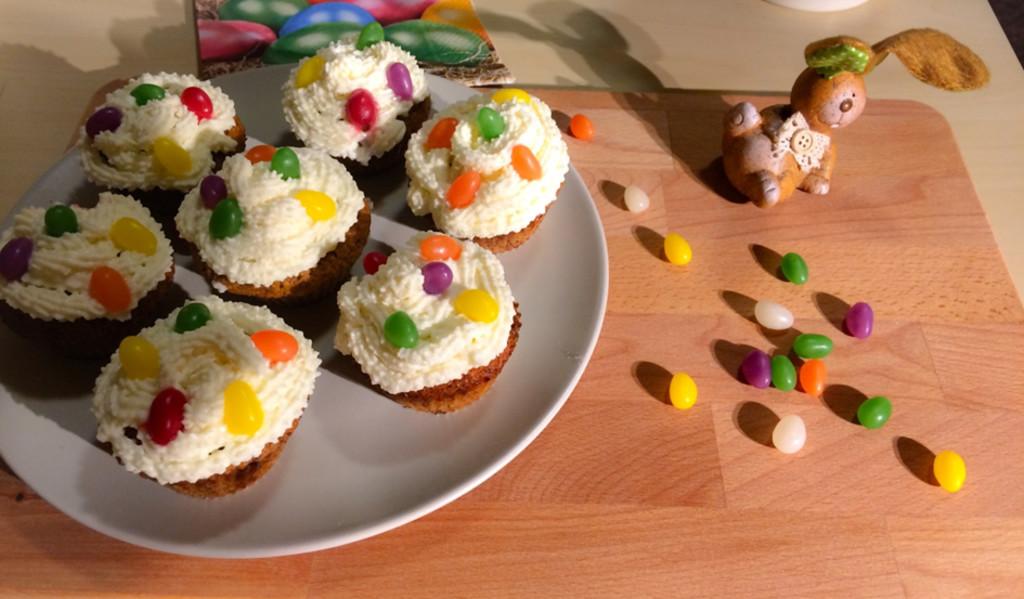 húsvéti gluténmentes cupcake muffin recept