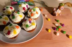 Húsvéti répás cupcake - egy igazi ünnepi desszert