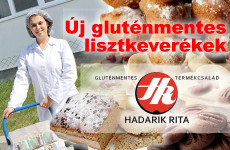 Hadarik Rita - 7 új gluténmentes lisztkeverék