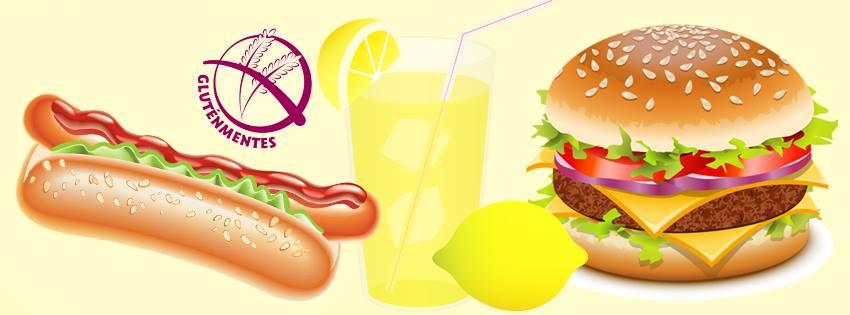 gluténmentes hamburger és hotdog