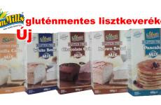 Új Sam Mills gluténmentes lisztkeverék termékcsalád jelent meg