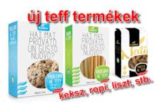 Teff alapú gluténmentes termékek