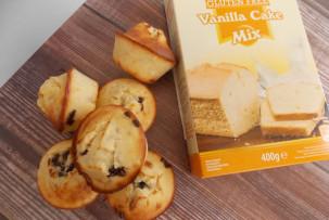 Csokis gluténmentes muffin Sams Mills vaníliás süteményporból