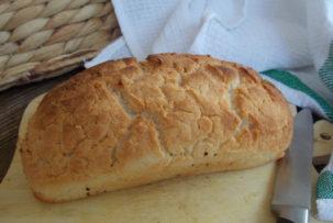 gluténmentes fehér kenyér recept
