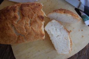 gluténmentes kenyér szelet