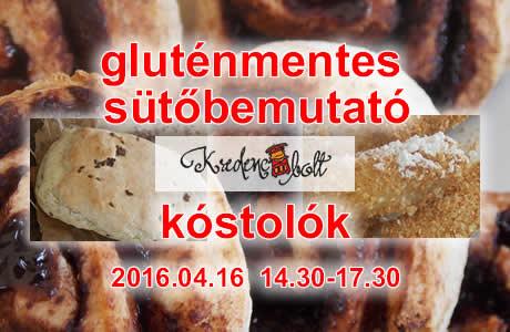 gluténmentes sütőbemutató