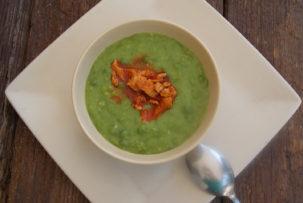 gluténmentes zöldborsó főzelék recept