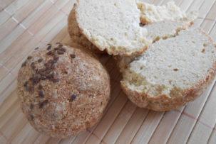 gluténmentes zsemle sütés