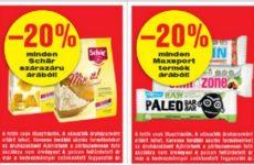 Akciós gluténmentes termékek 2016. április második fele