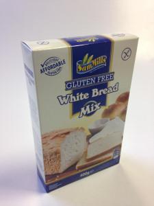 Sam Mills fehér kenyér gluténmentes lisztkeverék