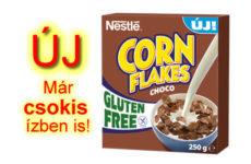 Nestlé csokis gluténmentes Corn Flakes - új termék!