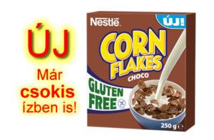 új gluténmentes corn flakes csokis