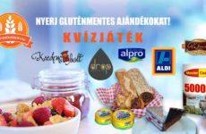 Elindult az új gluténérzékeny.hu kvízjáték
