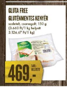 Gluta-Free gluténmentes kenyér