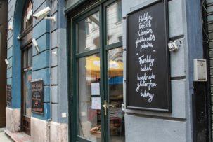 Manioka gluténmentes pékség Ráday utca Budapest